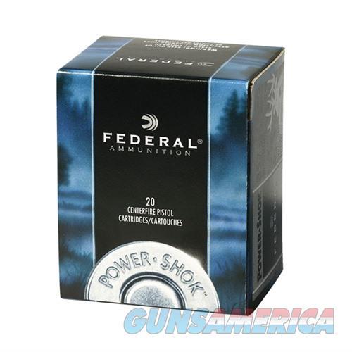 Federal Power Shok 41 Rem Mag 210gr JHP 20/bx  Non-Guns > Ammunition