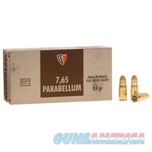 Fiocchi Specialty 30 Luger 93gr FMJ 50/bx  Non-Guns > Ammunition