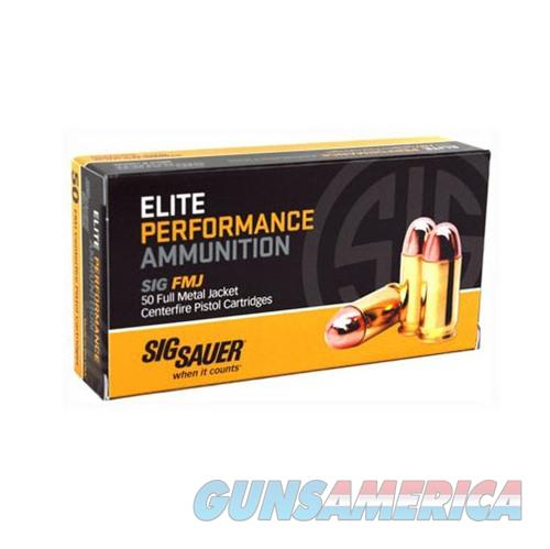 Sig Elite Performance 10mm 180gr FMJ 50/bx  Non-Guns > AirSoft > Ammo
