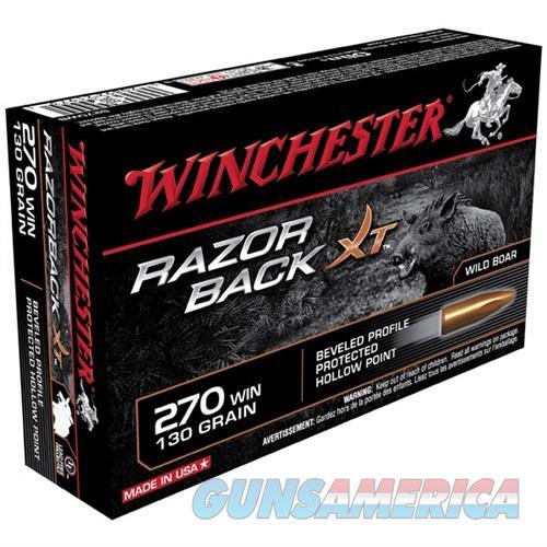 Winchester Razorback XT 270 Win 130gr PHP 20/bx  Non-Guns > Ammunition