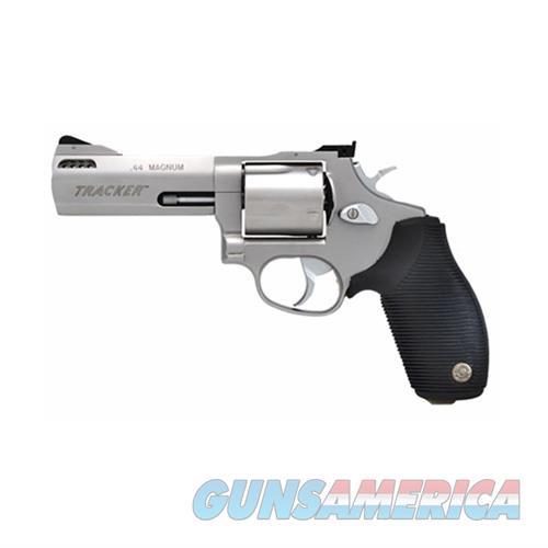 TAURUS TRACKER 44 .44 MAG 4'' BARREL 5-RD STAINLESS  Guns > Pistols > Taurus Pistols > Revolvers
