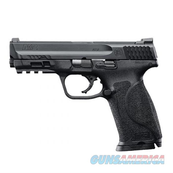 SW M&P 9 M2.0 9mm 4-1/4'' Bbl Black 15Rds  Guns > Pistols > Smith & Wesson Pistols - Autos > Polymer Frame