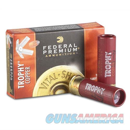 Federal Vital Shok Trophy Copper Slug 12ga 3'' 11/16oz 5/bx  Non-Guns > Ammunition