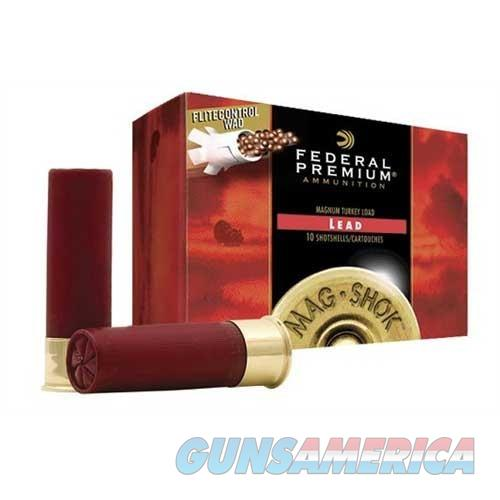 Federal Ammo 12ga 3.5in Turkey MAXd 2oz #4  Non-Guns > Ammunition
