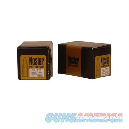 Nosler 35 Cal 225 gr Sp Partition  Non-Guns > Reloading > Components > Bullets