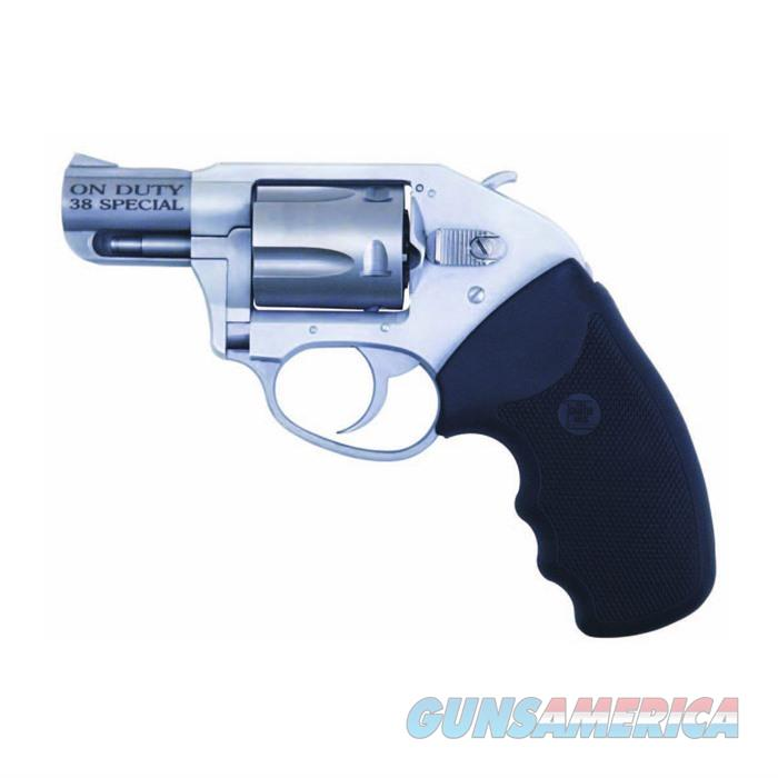 Charter Revolver Off Duty .38 Spl. 2'' Fixed Sight 5 Shot  Guns > Pistols > Charter Arms Revolvers