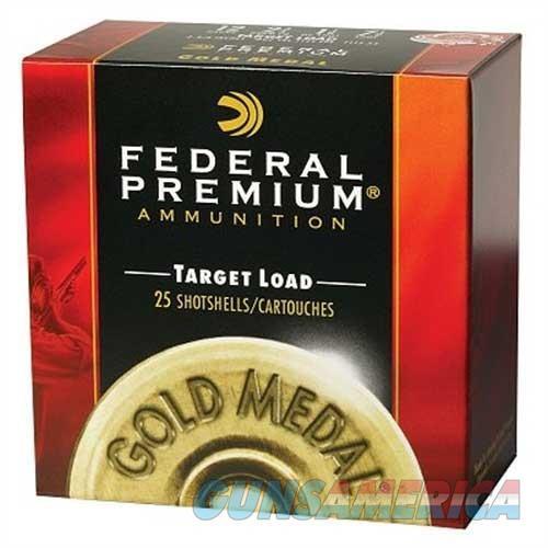 Federal Gold Medal Plastic 12ga 2.75'' 1-1/8oz #7.5 25/bx  Non-Guns > Ammunition