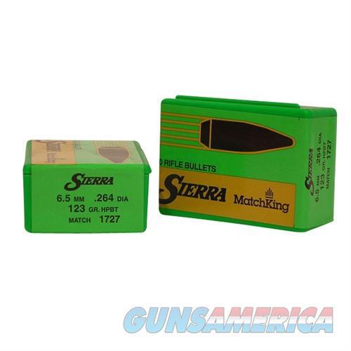 Sierra Bullet 6.5MM 123gr HPBT  Non-Guns > Reloading > Components > Bullets