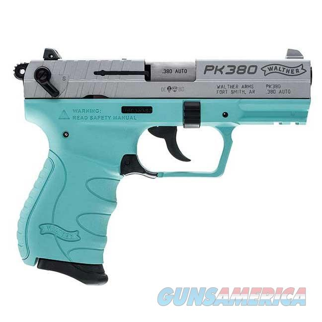 Walther PK380 .380 ACP Angel Blue 8 round 1 MAGS  Guns > Pistols > Walther Pistols > Post WWII > PK380