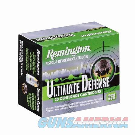 Remington Ultimate Defense Full Size 38 Spl +P 125gr BJHP 20/bx  Non-Guns > Ammunition