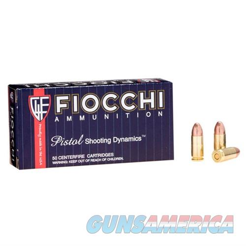 Fiocchi Shooting Dynamics 9mm 147gr FMJ 50/bx  Non-Guns > AirSoft > Ammo