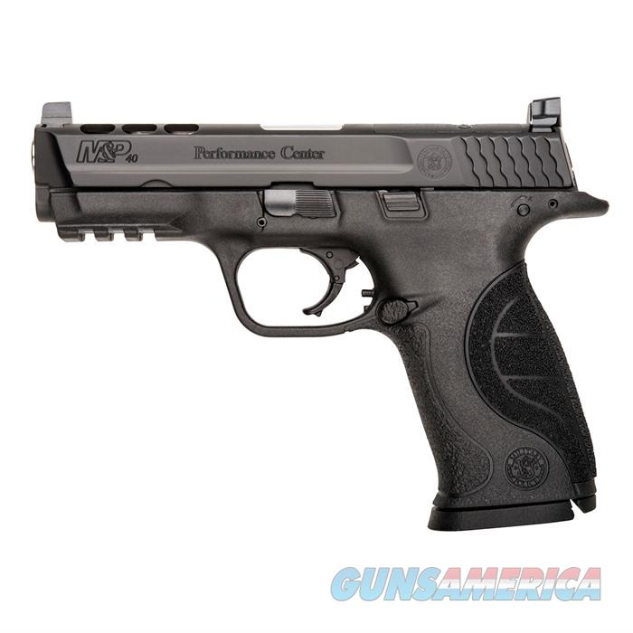 S&W M&P 40 S&W Performance Center Ported 4 1/4'' Bbl 15Rd  Guns > Pistols > Smith & Wesson Pistols - Autos > Polymer Frame