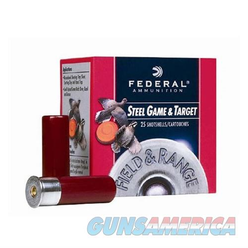 FEDERAL FIELD & RANGE STEEL 12 GAUGE 2.75' 1OZ #7 25/BX (25 ROUND  Non-Guns > Ammunition