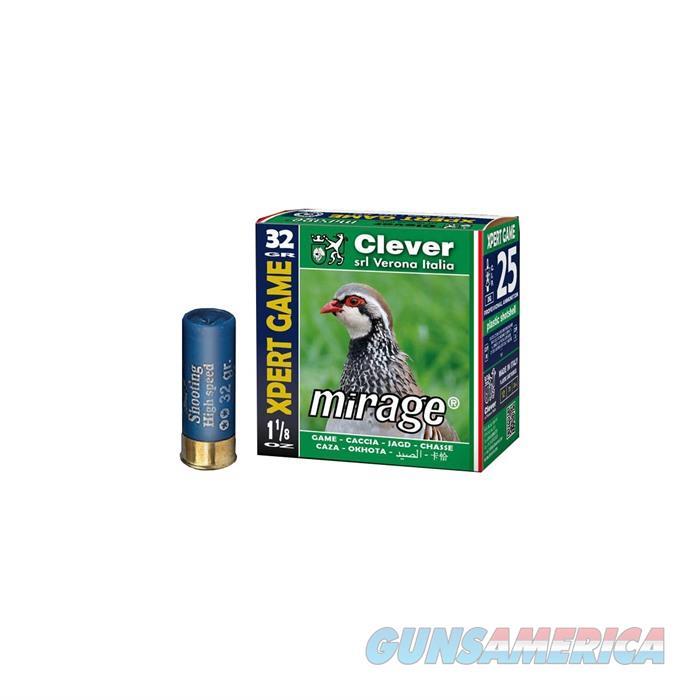 Clever Mirage T2 Xpert Game 12ga 1-1/8 oz #8 1250 FPS  Non-Guns > Ammunition