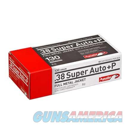 AGUILA 38 SUPER A+P 130GR 50/BOX  Non-Guns > Ammunition