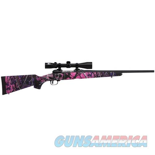 Savage Axis XP Youth Muddy Girl 223 Rem 20''  w/3-9x Scope  Guns > Rifles > Savage Rifles > Standard Bolt Action
