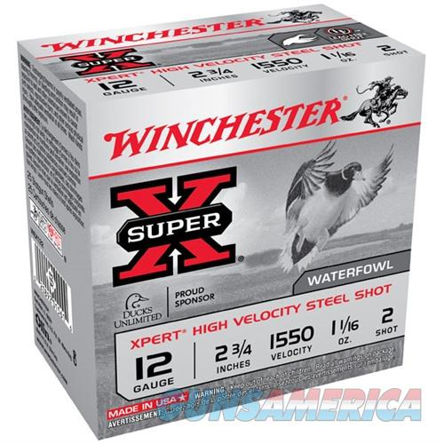Winchester Xpert HV Steel 12ga 2.75'' 1-1/16 oz. #2 25/bx  Non-Guns > Ammunition