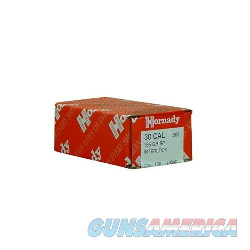 Hornady 30 CAL .308 165 GR SP  Non-Guns > Reloading > Components > Bullets