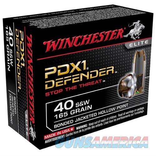 Winchester Ammo 40 S & W 165gr. PDX1 Bonded  Non-Guns > Ammunition