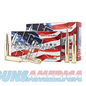 Hornady American Whitetail 300 Win Mag 180gr Interlock 20/Box  Non-Guns > Ammunition