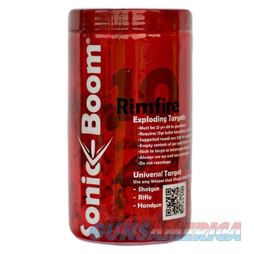 Sonic Boom 10 Rimfire Exploding Targets  Non-Guns > Targets > Clay Throwers