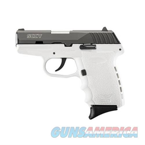 SCCY CPX-2 CBWT 9MM BLACK/WHITE (NO EXTERNAL SAFETY)  Guns > Pistols > SCCY Pistols > CPX2