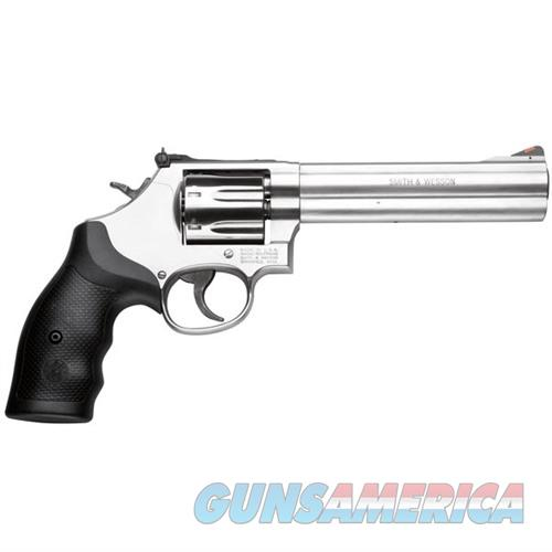 Smith & Wesson Model 686 Plus 357 Mag 6'' Stainless  Guns > Pistols > Smith & Wesson Revolvers > Full Frame Revolver