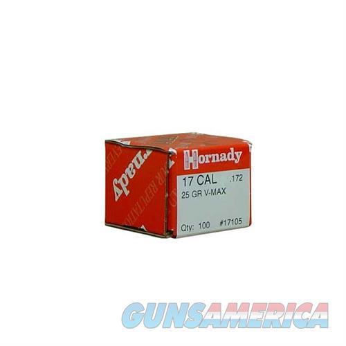 Hornady 17 CAL .172 25 GR V-MAX  Non-Guns > Reloading > Components > Bullets