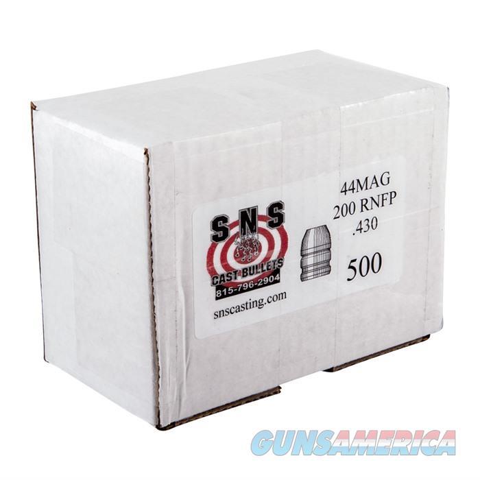 SNS CAST BULLET 44 .430 200GR RNFP  Non-Guns > Reloading > Components > Bullets