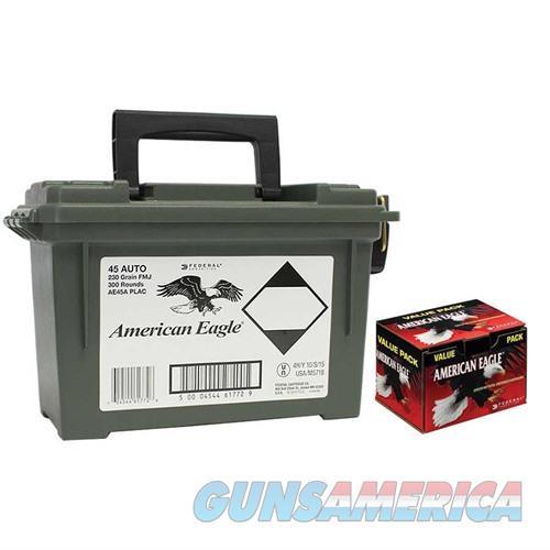 Federal Ammo Can 45ACP 230gr FMJ 300 Rds  Non-Guns > Ammunition