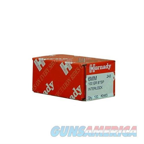 Hornady 6MM .243 100 GR BTSP  Non-Guns > Reloading > Components > Bullets