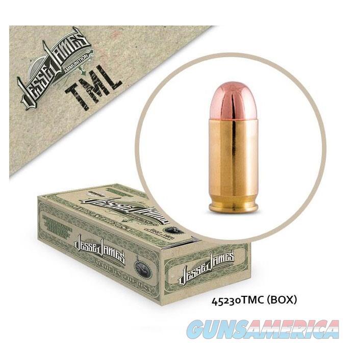 Jesse James TML 45 Auto 230gr TM 50bx  Non-Guns > Ammunition