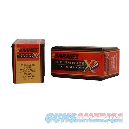 Barnes Bullet 375Cal .375 Dia 300gr TSX FB  Non-Guns > Reloading > Components > Bullets