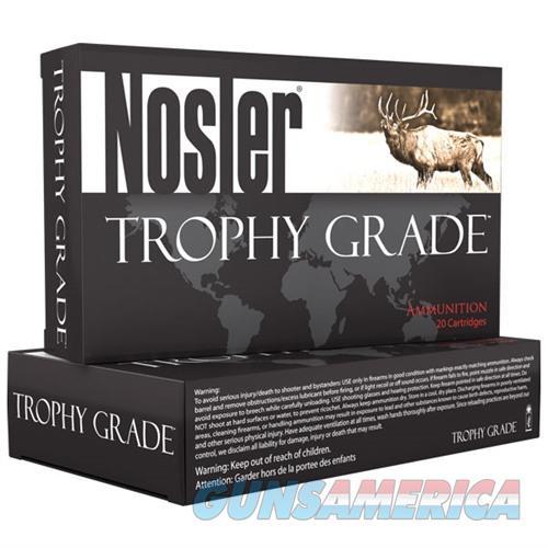 Nosler Trophy Grade Ammo 338 Win Mag 225gr E-Tip 20/bx  Non-Guns > Ammunition