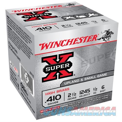 Winchester Ammo 410ga 2.5in SX MAXd .5oz #6  Non-Guns > Ammunition