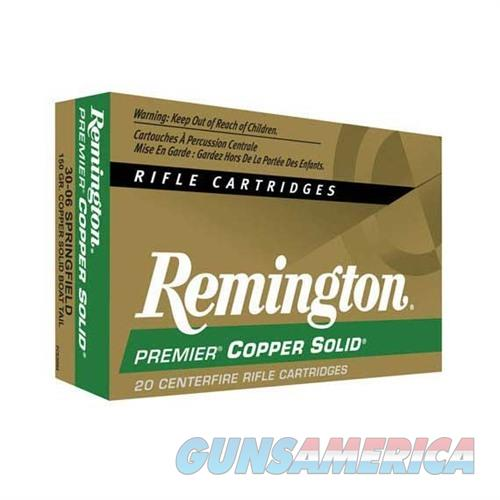 Remington Copper Solid 300 Win Mag 150gr 20/bx  Non-Guns > AirSoft > Ammo
