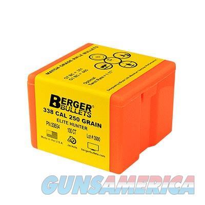 Berger Bullet 30 cal 180 gr Elite Hunter 100/bx  Non-Guns > Reloading > Components > Bullets