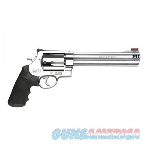 Sw S&W500  - (Stainless), 500 S&W Mag, 8 3/8  Bbl, 5Rd  Guns > Pistols > Smith & Wesson Revolvers > Full Frame Revolver