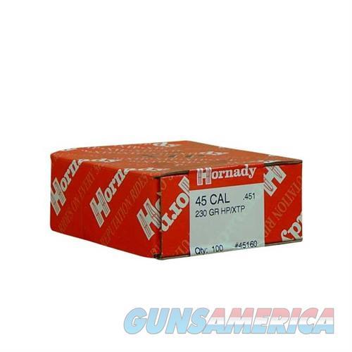 Hornady 45 CAL .451 230 GR HP/XTP  Non-Guns > Reloading > Components > Bullets