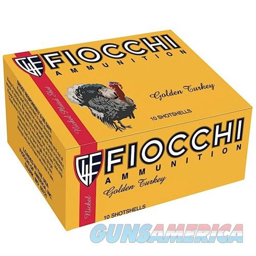 Fiocchi Nickel Plated Turkey Ammo 12ga 3'' #5 10/bx  Non-Guns > Ammunition