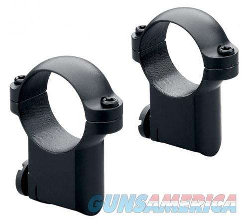 Leupold RM Ruger #1&77/22 30mm Medium Ringmounts-Matte  Non-Guns > Scopes/Mounts/Rings & Optics > Mounts > Other