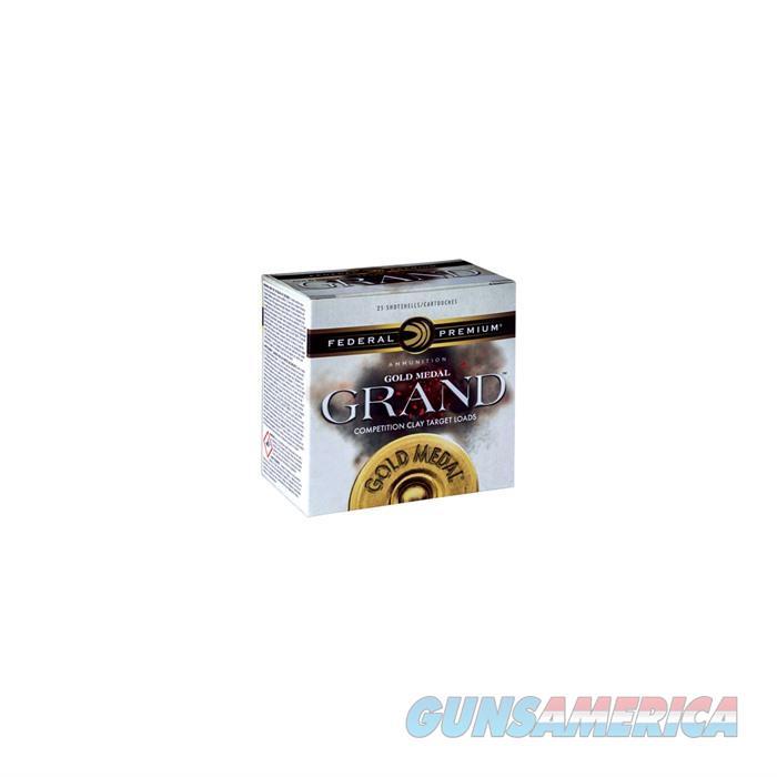 Federal Gold Medal Grand 12ga 2.75'' 1 1/8oz #8 HDCP  Non-Guns > Ammunition