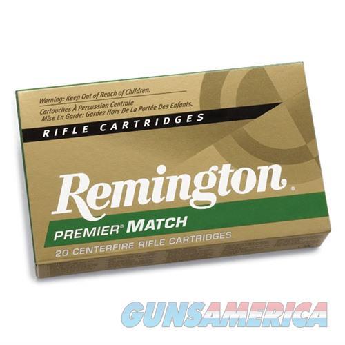 Remington Premier Match 223 Rem 69gr MatchKing BTHP 20/bx  Non-Guns > Ammunition
