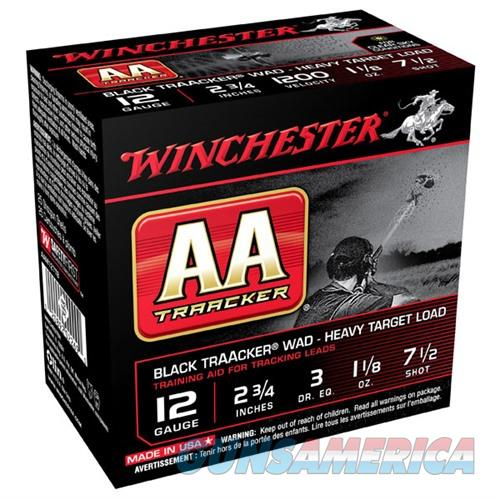 Winchester Heavy TrAAcker Black 12ga 2.75'' 1-1/8oz #7.5 25/bx  Non-Guns > Ammunition