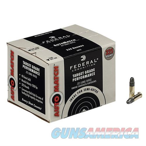 Federal Ammo 22LR Automatch 40gr Solid  Non-Guns > Ammunition