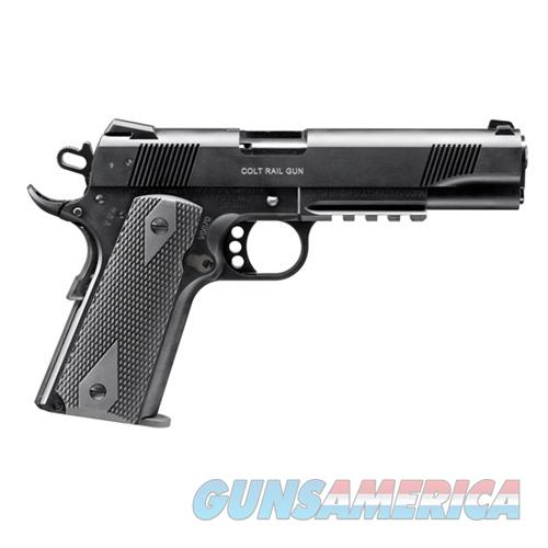 Walther Colt Government 1911 A1 Rail Gun 22LR 5''  12rd  Guns > Pistols > Walther Pistols > Post WWII > Umarex