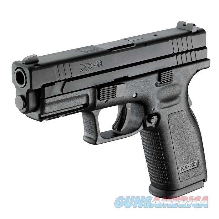 Springfield Xd Service 4''Bbl 9Mm 16 Rd Black  Guns > Pistols > Springfield Armory Pistols > XD (eXtreme Duty)