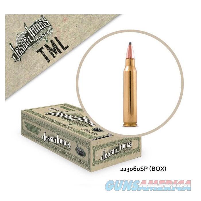 Jessa James TML 223 Rem 60 gr SP 50bx  Non-Guns > Ammunition