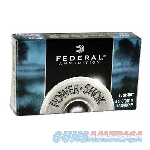 Federal Power Shok 12ga 2.75'' 34 Pel #4B 5/bx  Non-Guns > Ammunition