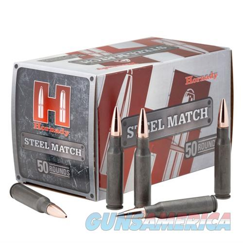 Hornady Steel Match 308 Win 155gr BTHP 50/bx  Non-Guns > Ammunition